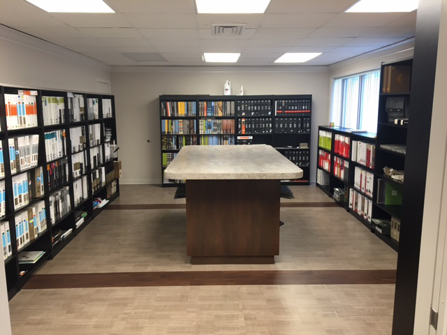 D&R Commercial Flooring Showroom